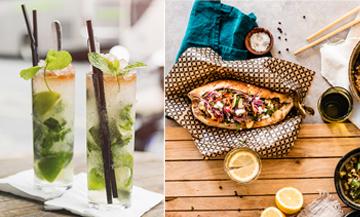 cocktails et street food à la terrasse de la rotonde stalingrad