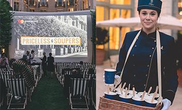 Le Ritz x Priceless Soupers soirée cinéma