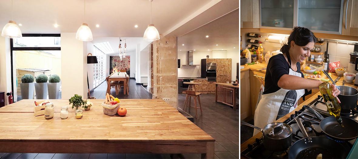 Ambiance interieur du restaurant et Cuisine du restaurant de odd Hartwell et Olivier Nizet