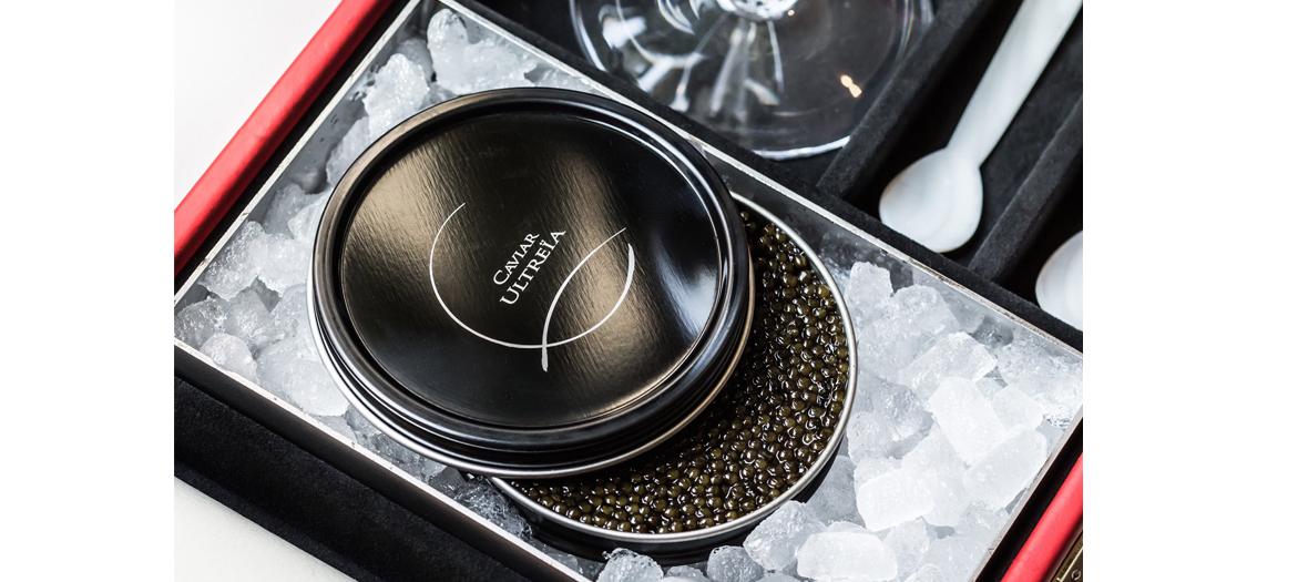 Boite de Caviar Ultreia à deguster au Palais Vivienne