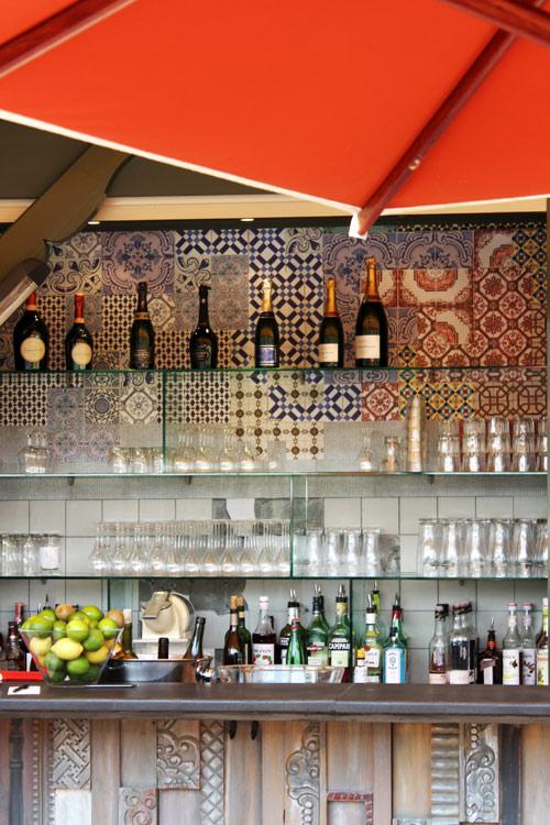 Bar du restaurant Le Chalet des Iles