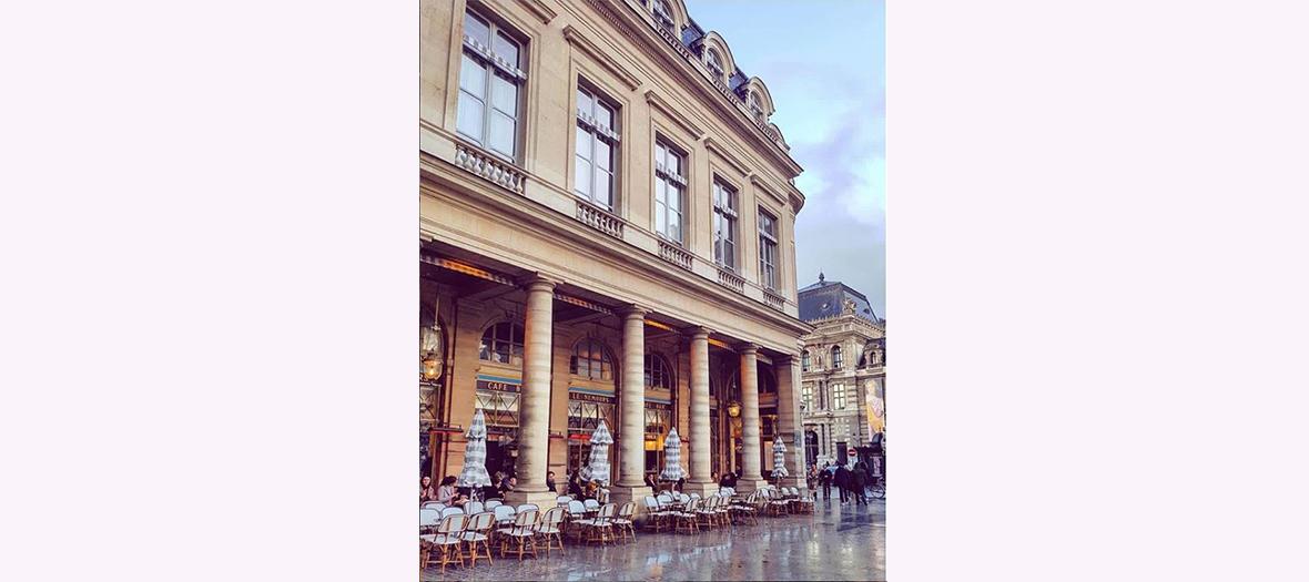 Terrasse du Nemours au Palais Royal