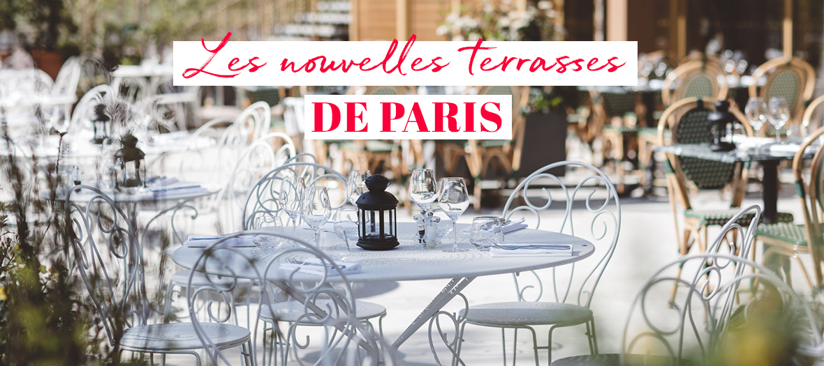 Terrace of the Parislonchamps brasserie in the 16th district
