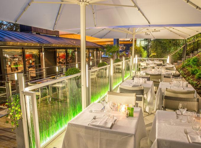 Garden Café terrasse