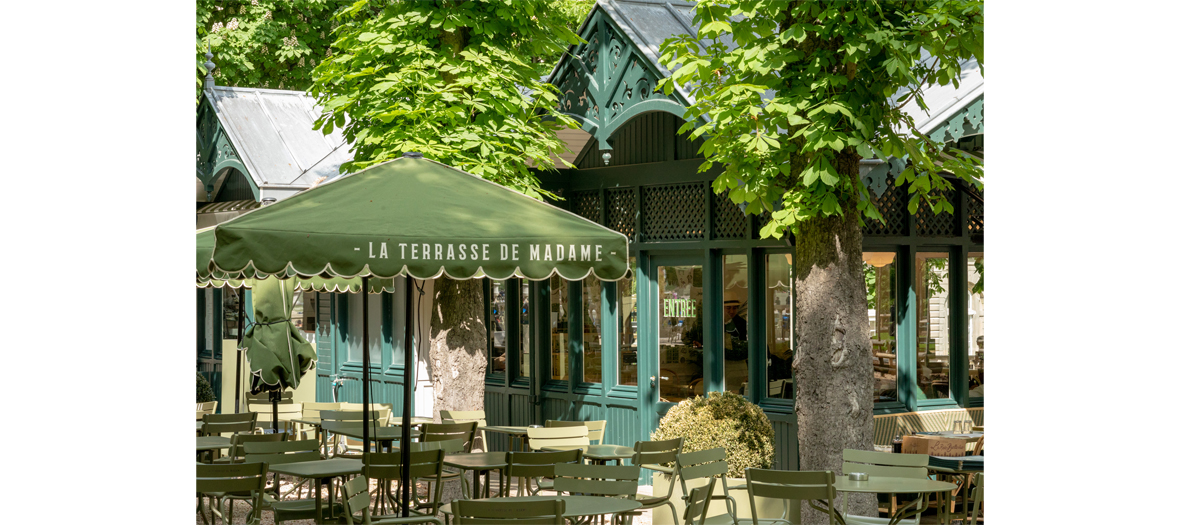 Exterior of restaurant terrasse madame