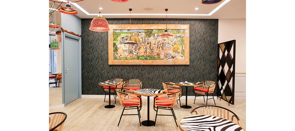 Café et champagne chez Sisley