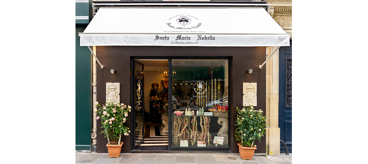 A mini Florence boutique with Italian decor just near the Elysée