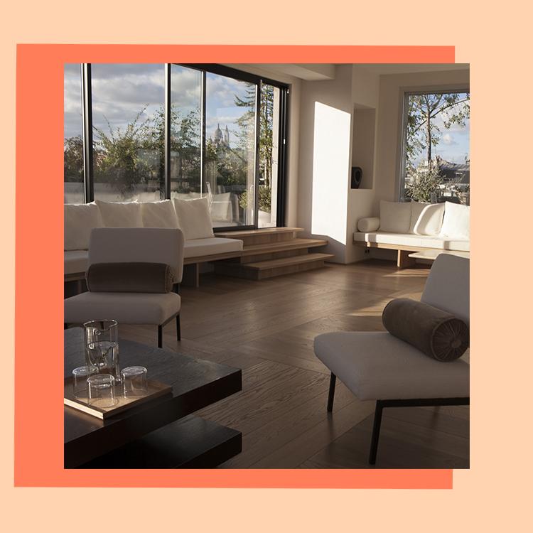 hammam, salon, terrasse