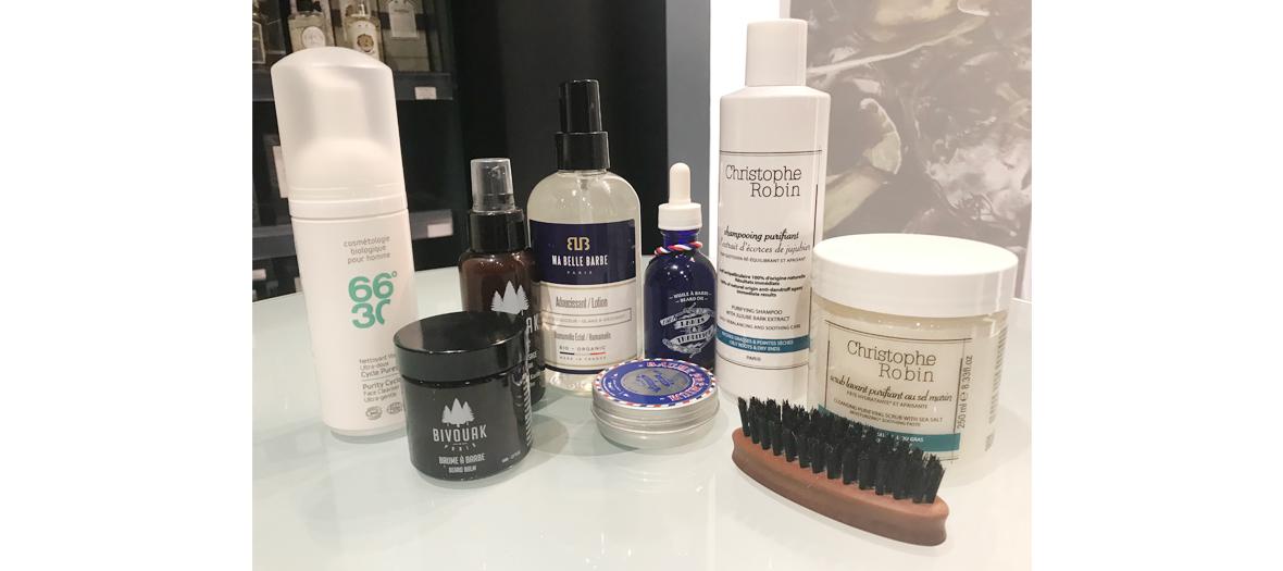 Produits bio pour visage et barbe made in france