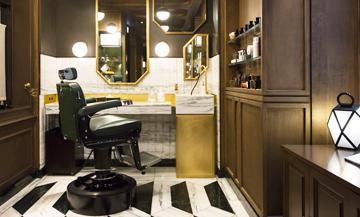Le barbier le plus snob de Paris