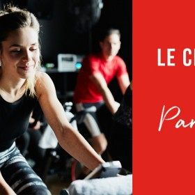 Cardio training in a sport club in Paris