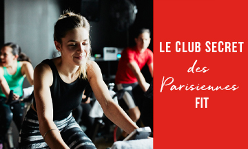 Cardio training in a sport club in Paris