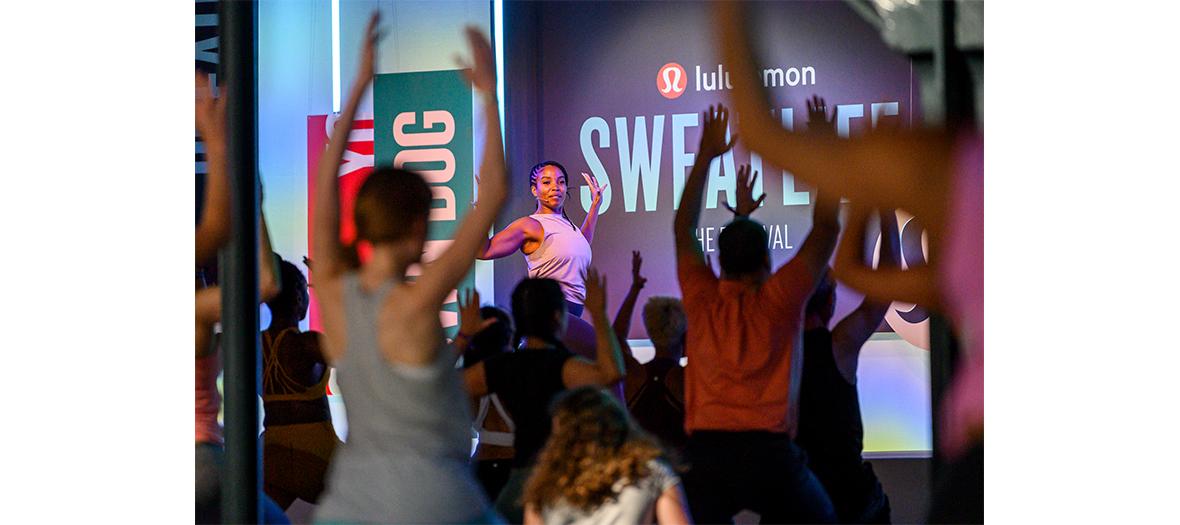 Séance de sport avec du hatha yoga, hip-hop yoga et du yin yoga