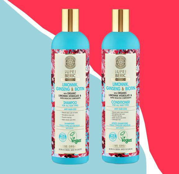 Shampoing et après shampoing Anti-chute Super Siberica