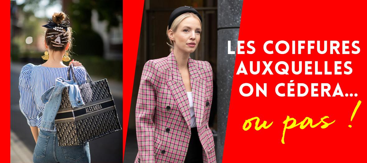 Les coiffures des créateurs de mode à Paris