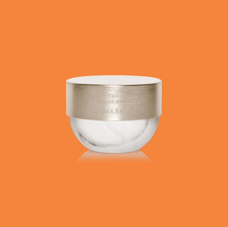Soins Namaste qui traite les 5 problèmes de peau, crème de jour, crème de nuit masque, huile, baume