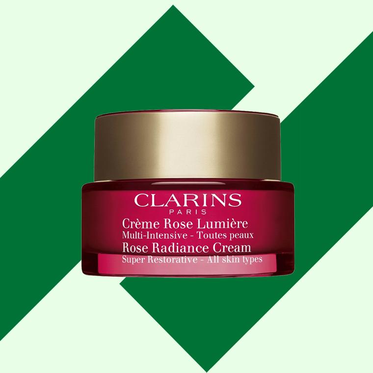 creme rose lumiere, la nouvelle crème antirides, boosters d'éclat et redensifiants de clarins
