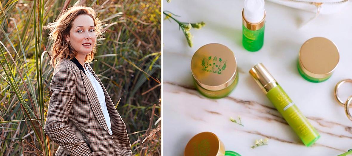 Portrait de Tata Harper et sa gamme de produit anti-âges