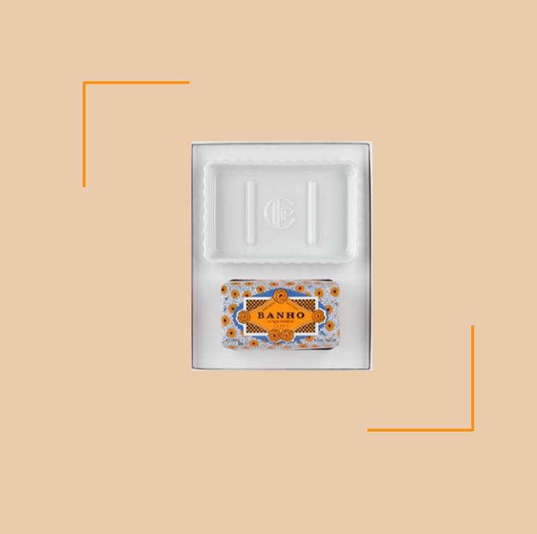 Le coffret de savon Gift Set-Banho de Claus Porto à 32 €