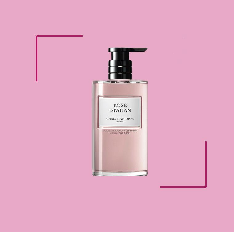 Le savon liquide Rose Ispahan, Christian Dior, 350 ml, 50 €