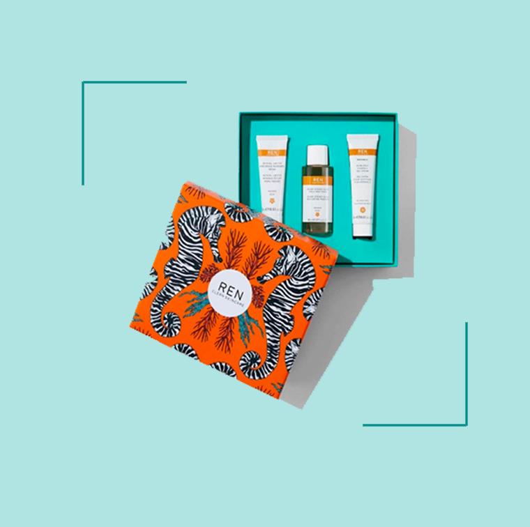 Le coffret Routine éclat Ren Clean Skincare à 25 €