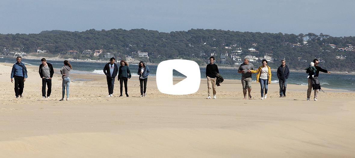 Extrait du film sur la plage