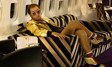 Film avec Taron Egerton dans le rôle d'Elton John
