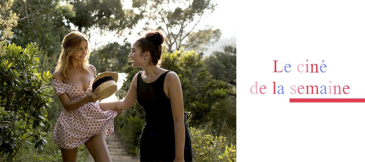 Mina Farid et Zahia Dehar sur le tournage de une fille facile