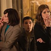 Chiara Mastroianni, Vincent Lacoste et Camille Cottin dans Chambre 212 de Christophe Honoré