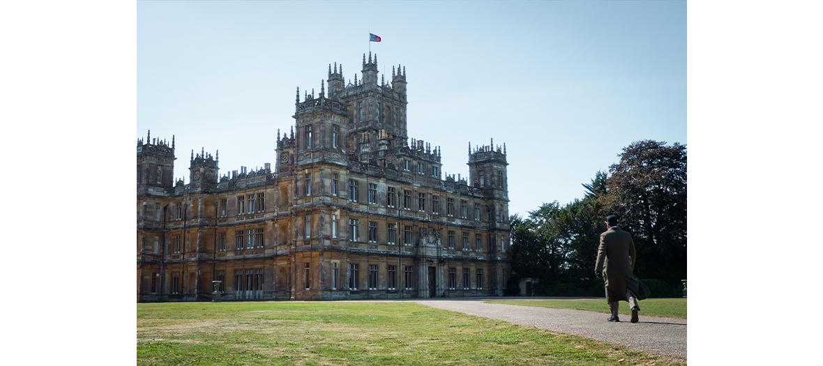 Le chateau de Highclere lieu de tournage du film downton Abbey