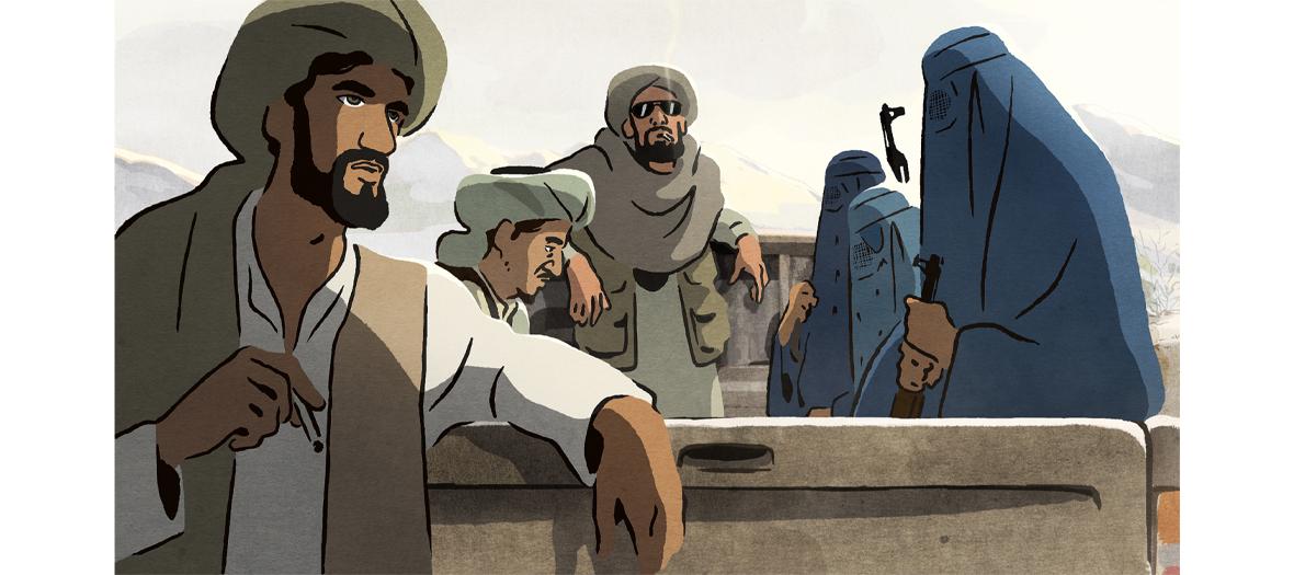 Extrait des Hirondelles de Kaboul
