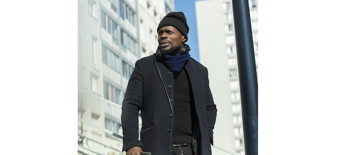 Portrait de Kerry James acteur du film Banlieusards réaliser par Leïla Sy
