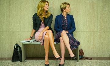 Les actrices Scarlett Johansson, Michey Summer du film Mariage story réalisé par Noah Baumbach