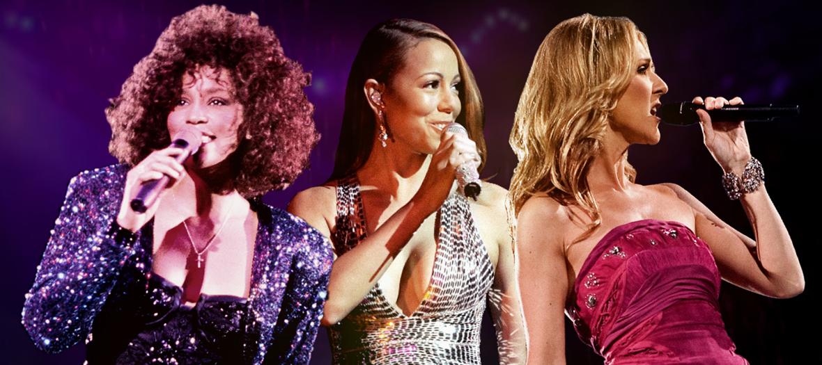 Documentaire sur Céline Dion, Mariah Carey et Whitney Houston