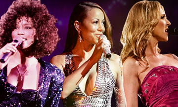 Documentaire sur Céline Dion, Mariah Carey et Whitney Houston