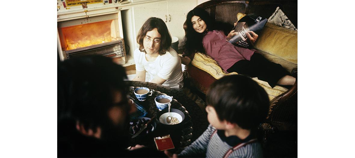 Le couple iconique John et Yoko