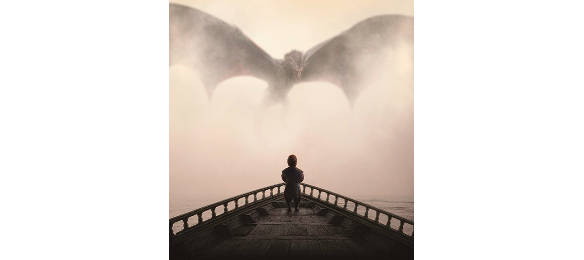Tyrion Lannister et le dragon