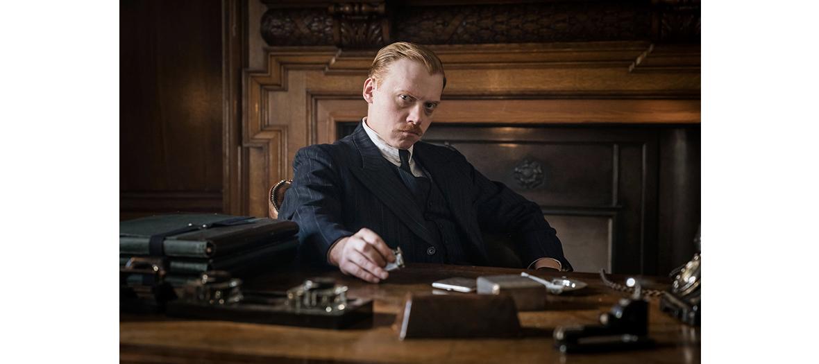 Rupert Grint dans la série The ABC Murders