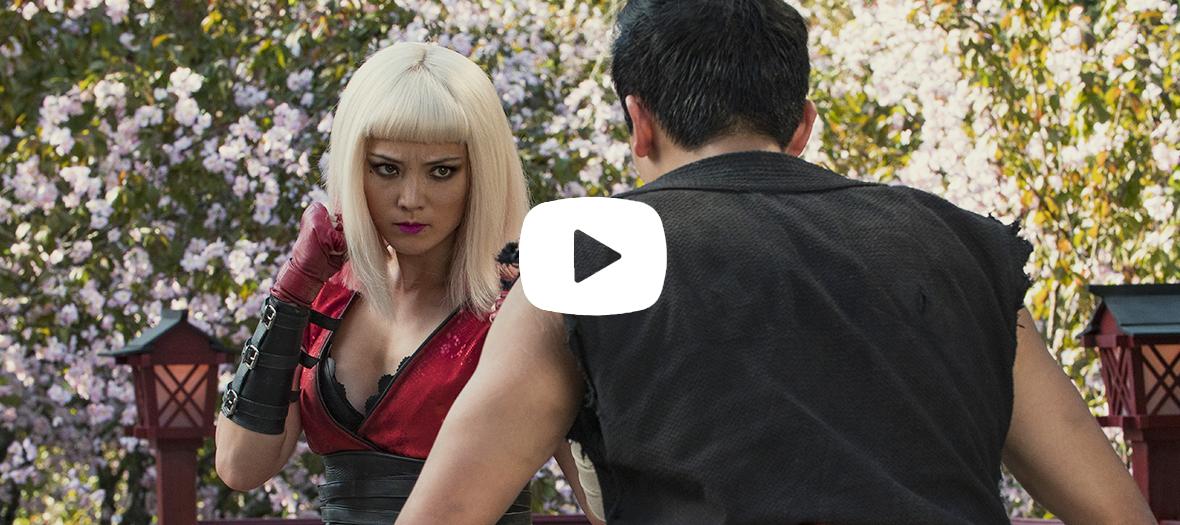 Extrait de la saison 5 de Black mirror avec Pom Klementieff