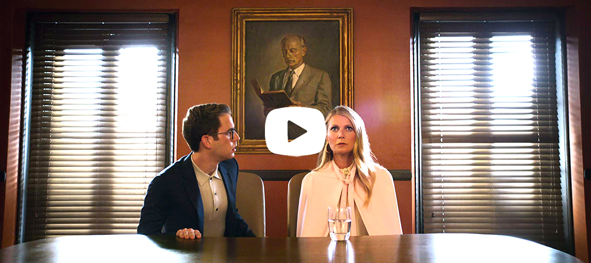 Bande annonce de la serie the politician avec Ryan Murphy, Gwyneth Paltrow, Jessica Lange, Bob Balaban