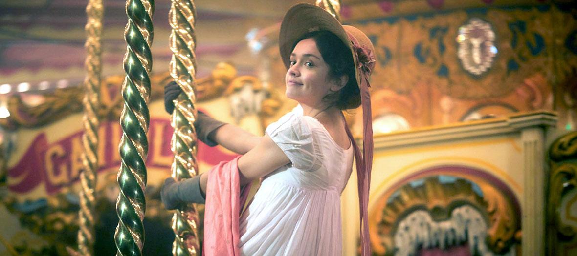 L'actrice Romola Garais dans la serie La Foire Aux Vanites