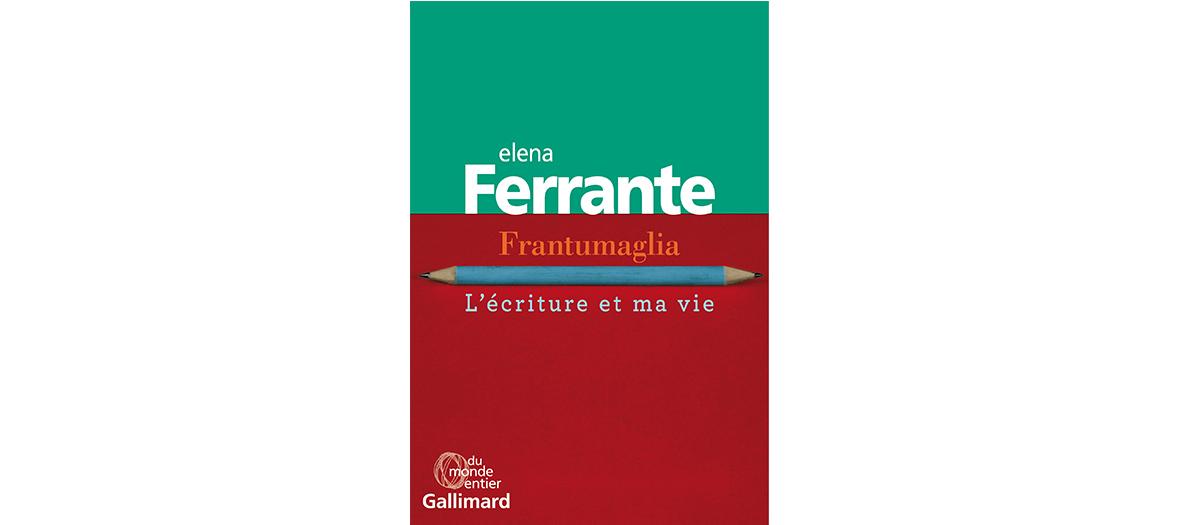 Livre biographique de Elena Ferrante, edition Gallimard