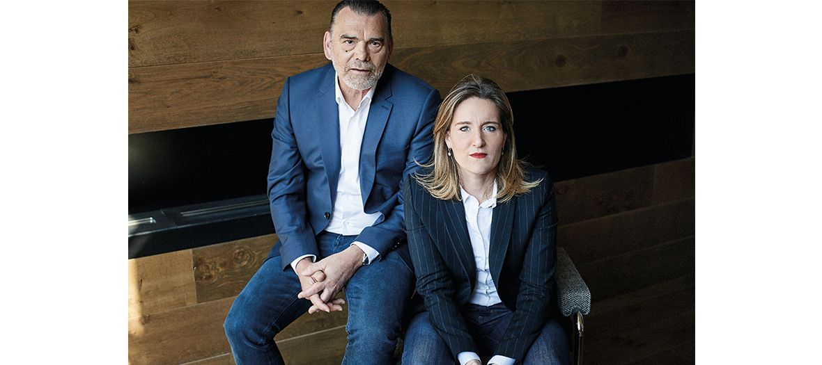 L'avocat Frank Berton et la journaliste Elsa Vigoureux