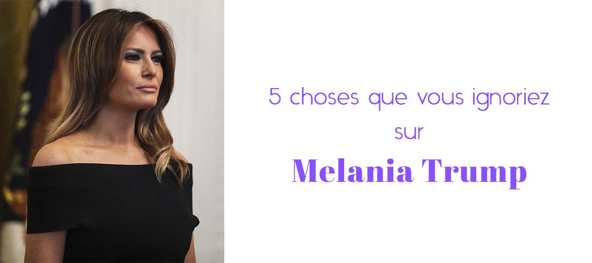 Livre Dear Melania