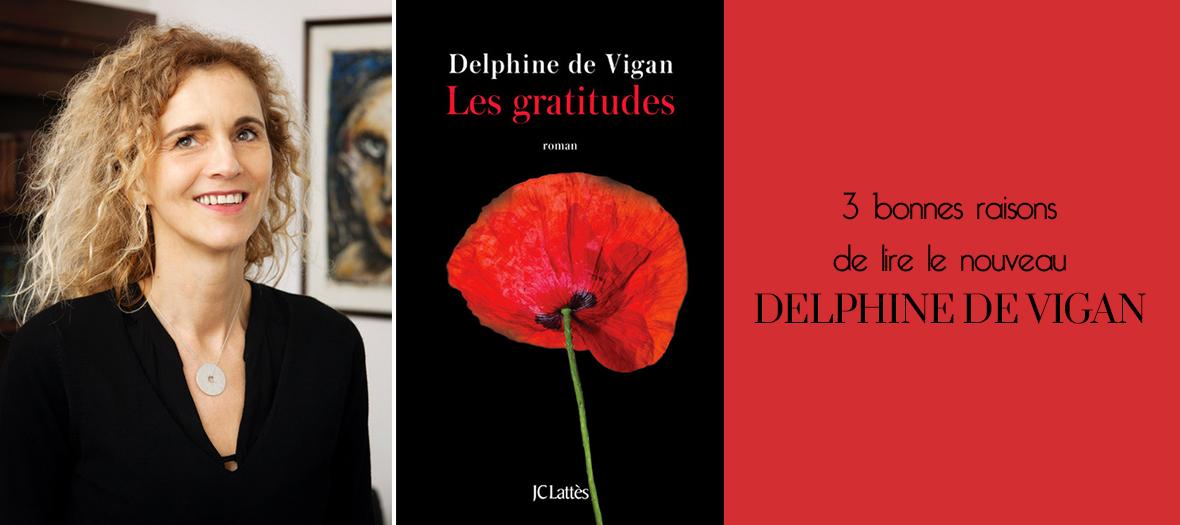 Nouveau roman de Delphine de Vigan