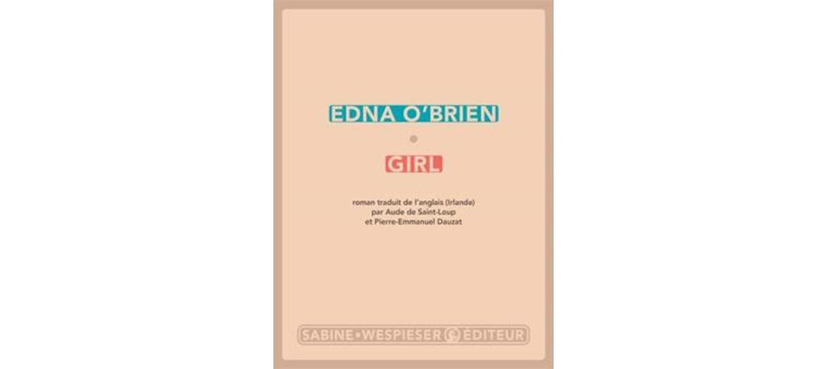 Couverture du roman Girl d'Edna O'Brien