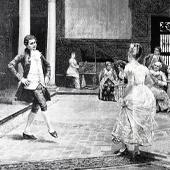 un bal qui a lieu dans l'hôpital de la Salpêtrière où les patientes sont déguisée pour amuser les bourgeois