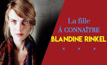 Portrait de Blandine Rinkel auteur du roman Le Nom Secret des Choses