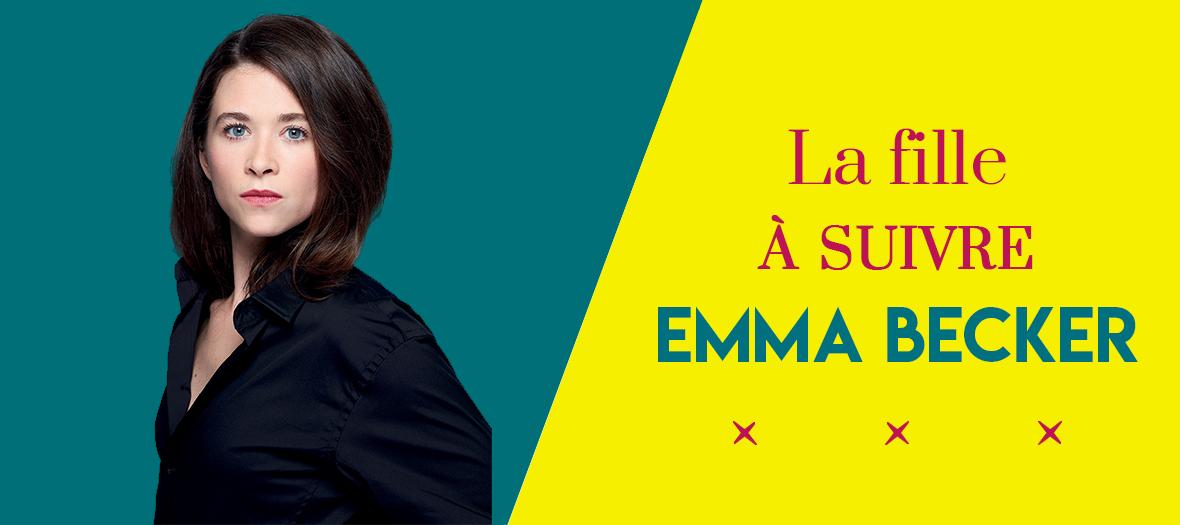 Portrait d'Emma Becker auteur du roman La Maison