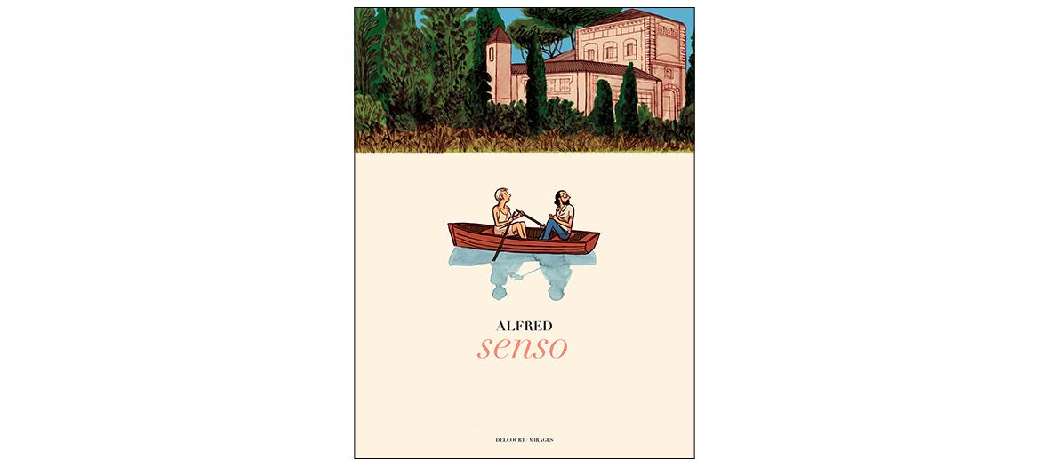 Couverture du roman Senso d'Alfred Delcourt  19,99 €